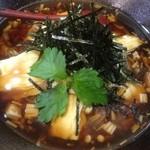 蕎仙 - あんかけ湯葉蕎麦