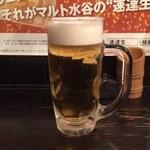 とことん家 - ドリンク写真:生ビール