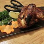 居酒屋 八天将 - 丸鶏焼き