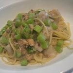 4815444 - 七面鳥ラグーと野菜のスパゲッティ