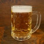 あかやしろ 焔 - 生ビール