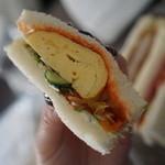 Chima - 卵サンド分厚い!