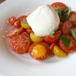 ☆白糠のモッツァレラチーズのカプレーゼ
