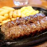 ブロンコビリー - 炭焼がんこハンバーグ