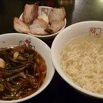 喜多方ラーメン 坂内 - 釜揚げつけ麺 税込770円