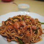 レストラン・ケルン - ウインナー入りナポリタン(2010年8月)