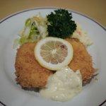 レストラン・ケルン - カニクリームコロッケ(2010年8月)
