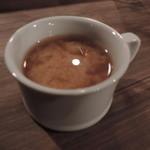 肉酒場 ブラチョーラ - 蜆のお味噌汁
