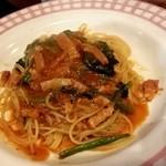 ビアマーレ - 鶏肉と有機小松菜のカレークリームパスタ