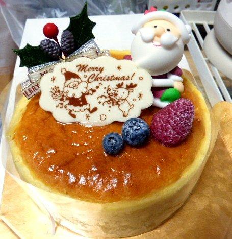 パティスリー ケイツー - 【2015年のクリスマスケーキ:チーズケーキ】