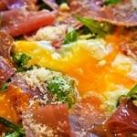 大衆イタリア食堂 アレグロ - ナポリピッツァランチ(ウォーボ:水牛モッツァレラVer)