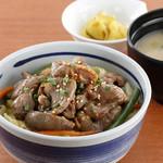 松尾ジンギスカン - ジンギスカン丼(中) ¥880