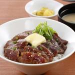 松尾ジンギスカン - ジンギスカンステーキ丼 ¥1180