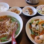 金満園 - 八宝菜ランチ