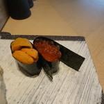 鮨棗 - ウニ いくら