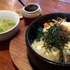 すもも - 料理写真:チーズ石焼ビビンバランチ 税込972円