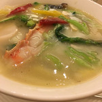 天厨菜館 - 海鮮そば
