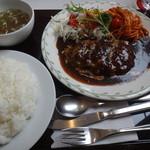 レストラン ユっぴー - ハンバーグランチ