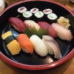 栄寿司 - 握り寿司1.5人前