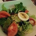 コスタ・ラティーナ - アボカドと椰子の芽のサラダ