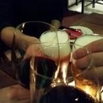 コスタ・ラティーナ - 4人で乾杯