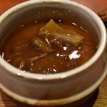 一富士 - テールの茶わん蒸し