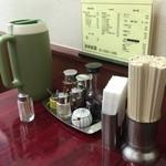 長崎飯園 - 卓上