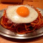 スパゲッティーのパンチョ - ナポリタン目玉焼き700円