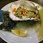 磯料理 まるけい - 壱岐の牡蠣はでかくて美味しい。