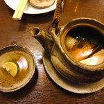磯料理 まるけい - 松茸の土瓶蒸し