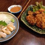 磯料理ヨット - 貝柱のお造り食べる価値あります!