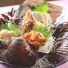 格子屋 - ドリンク写真:旬の貝づくし刺身盛り合わせ