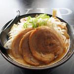 つけ麺 白虎 - 味噌ラーメン富士山盛り