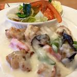 ガスト - 鶏肉のクリームソース