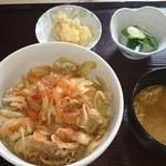 まるい食堂 - 2014/07/19 12:20訪問 焼肉丼¥500(大盛+¥50)