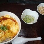 まるい食堂 - 2014/09/03 12:00訪問 天津丼¥500