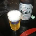 まるい食堂 - 2014/09/03 12:00訪問 瓶ビール¥500