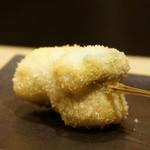 串揚げ 桂 - イシモチ(白身魚)