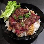 レッドロック - ステーキ丼≪並≫(\950)