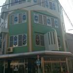大阪ハラールレストラン - 向かいにあるモスク