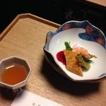 和多屋別荘 - 彩りよい前菜