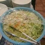 大阪ハラールレストラン - 野菜サラダ
