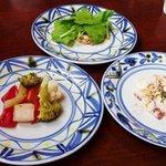 アネッサ - ランチ1900円の前菜
