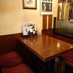 福寿亭 - 2~4人までの小テーブル。