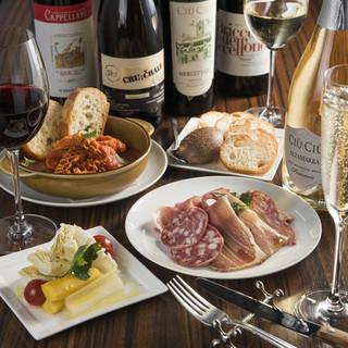 現地の味を大事にしたこだわりのイタリア料理