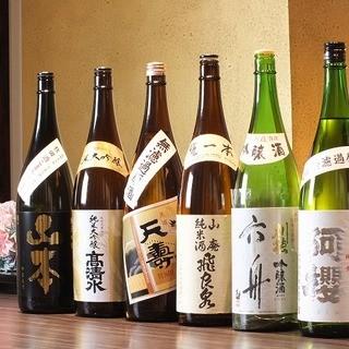 秋田の地酒を