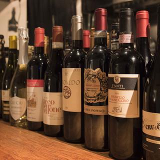イタリア各州100種のワイン