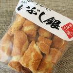 鹿島米菓 - いぶし銀(ぶっかけ塩)