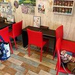 ケ・アロハ - Ke Aloha @中葛西 テーブル3卓7席だけのイートスペース
