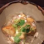 いちぼ - 海老いもの蟹あんかけ。 お腹も心もあったまります。